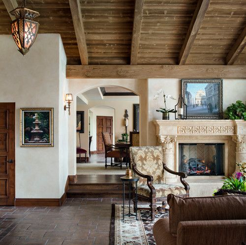 Interior Spanish Style Homes: 'Spanish Home In Rancho Santa Fe.' H O M E + Atelier