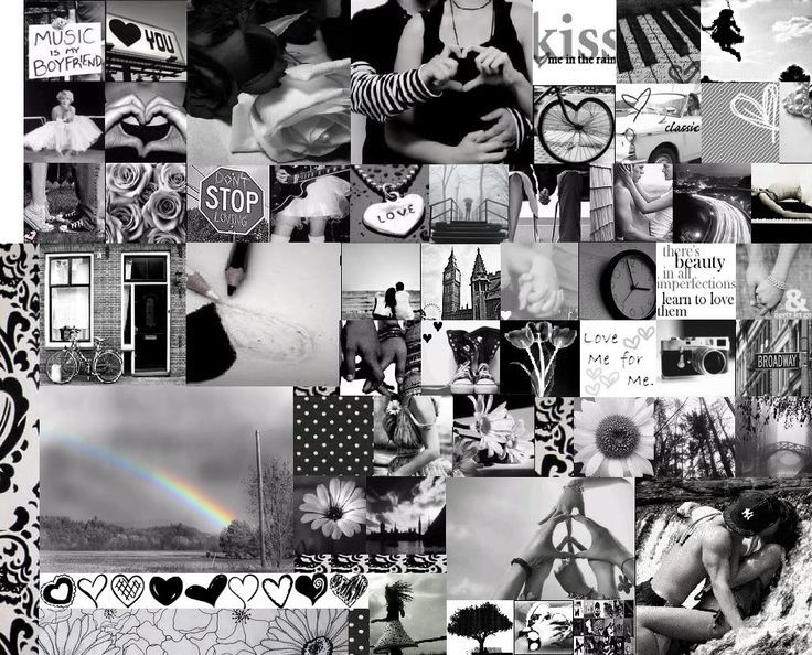 Magazine black and white collage google search
