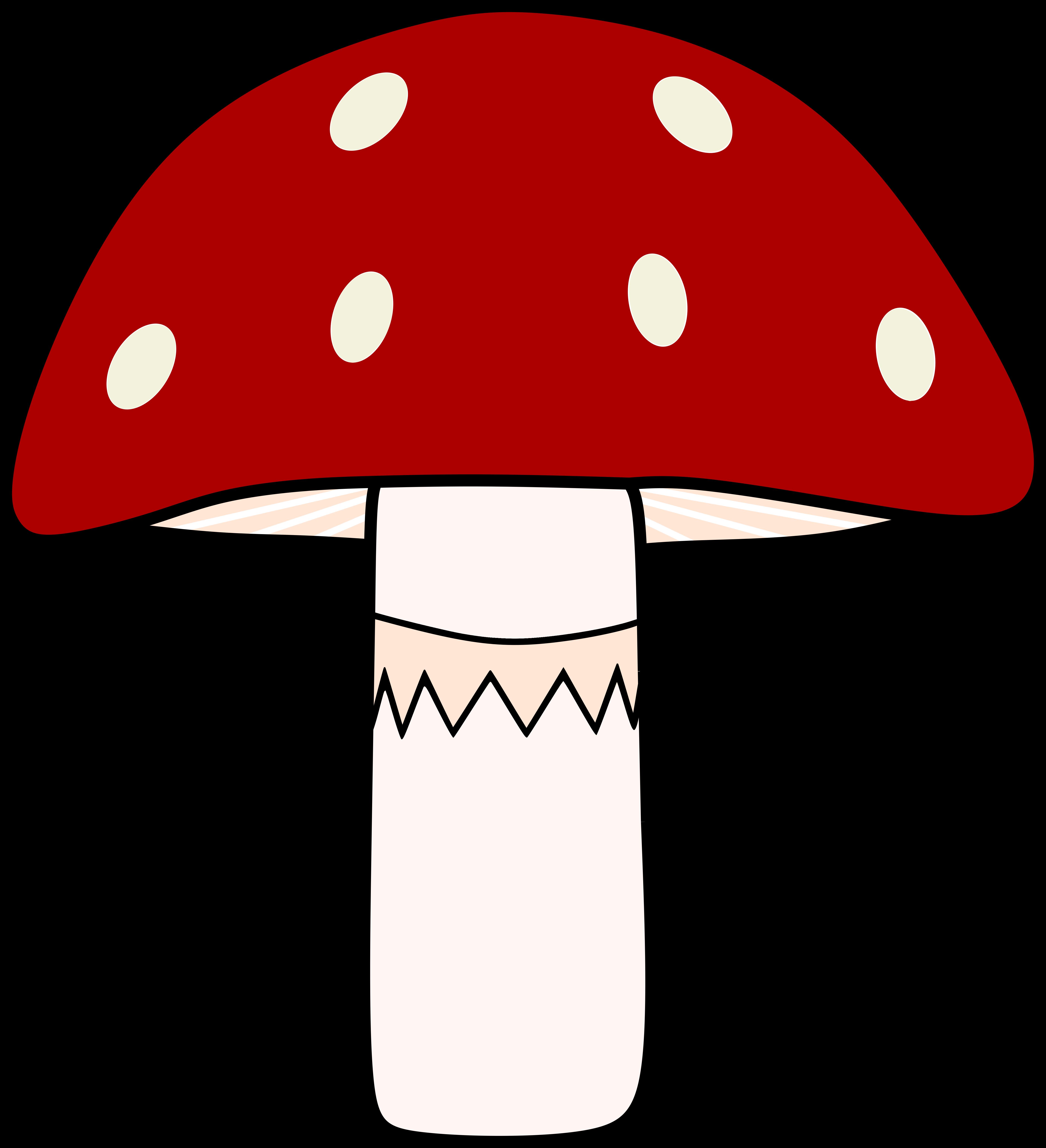 Gratis Obraz Na Pixabay Grzyb Muchomor Czerwony Painting Drawing Painting Graphic