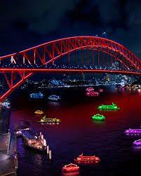 Sydney Harbour including boats