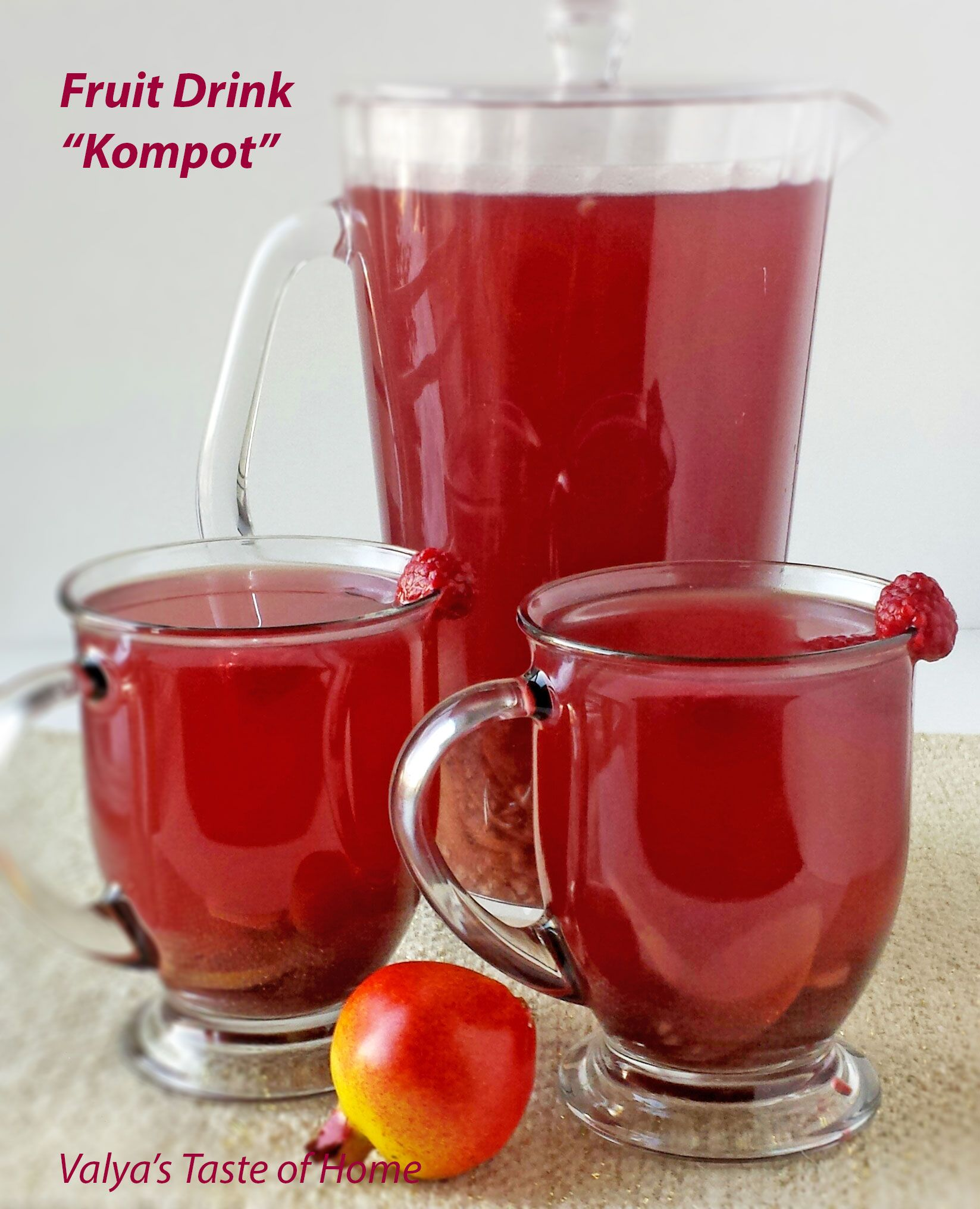 Kompot Is A Soft Drink Substitute