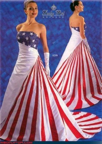 Usa Costumes Homemade Usa Costume Ideas Costumepedia Com Patriotic Wedding Dress American Wedding Dress Patriotic Dresses