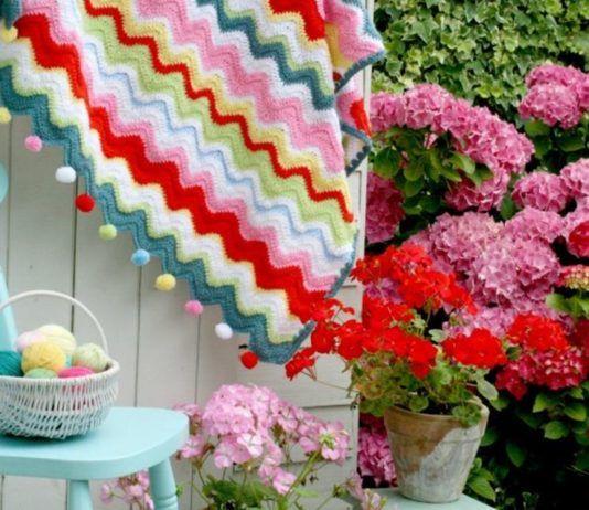Beautiful Pom Pom Edging Patterns Coco Rose Diaries