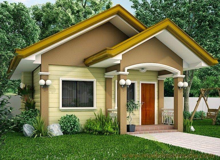 Model Rumah Sederhana Elegan House Blueprints Rumah Minimalis Arsitektur Modern