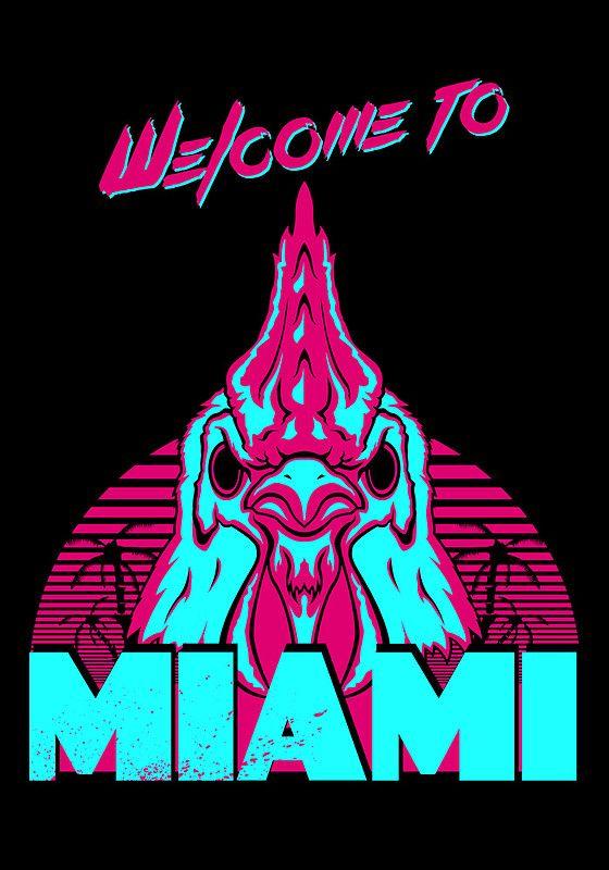 4fe26d2cbc175f Welcome to Miami - I - Richard by James Camilleri Hotline Miami ...