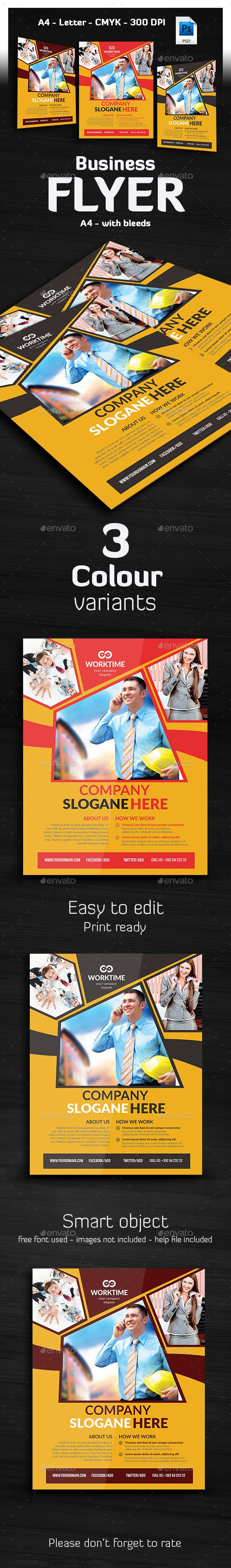 Multipurpose Business Flyer Design - Corporate Flyer Template PSD. Download here: http://graphicriver.net/item/multipurpose-business-flyer-/16874778?ref=yinkira
