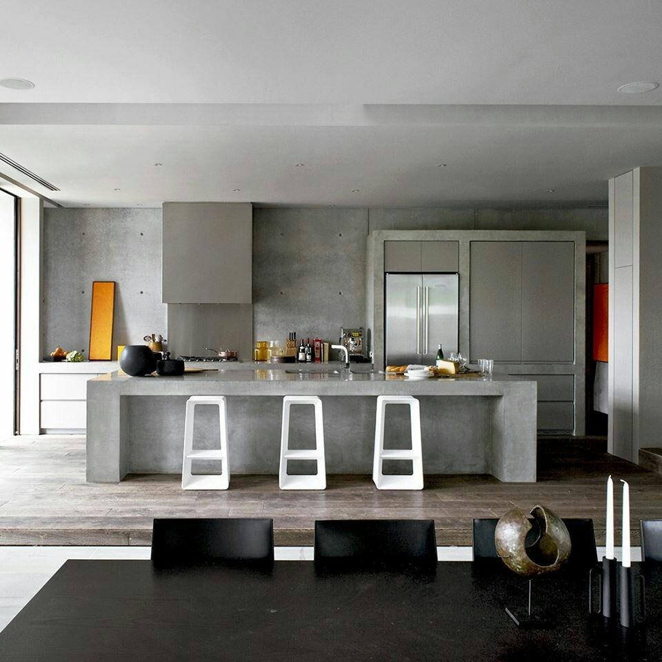 concrete kitchen | tk interiors | pinterest | concrete kitchen