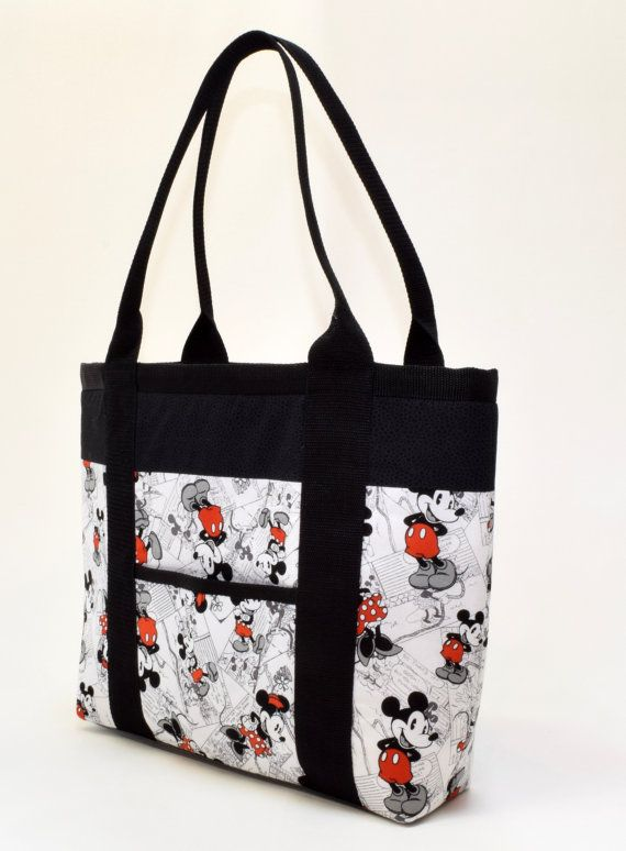 Disney Handmade Fabric Handbag Tote Computer Bag Or Purse Made From For All Occasions The Lena