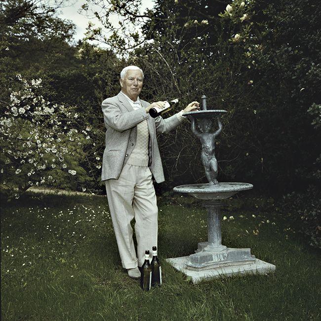 Charles Chaplin, 16.4.1961 in Corsier (Com_C10-78-001)