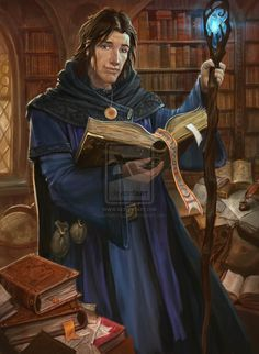 fantasy young wizard art - Google Search