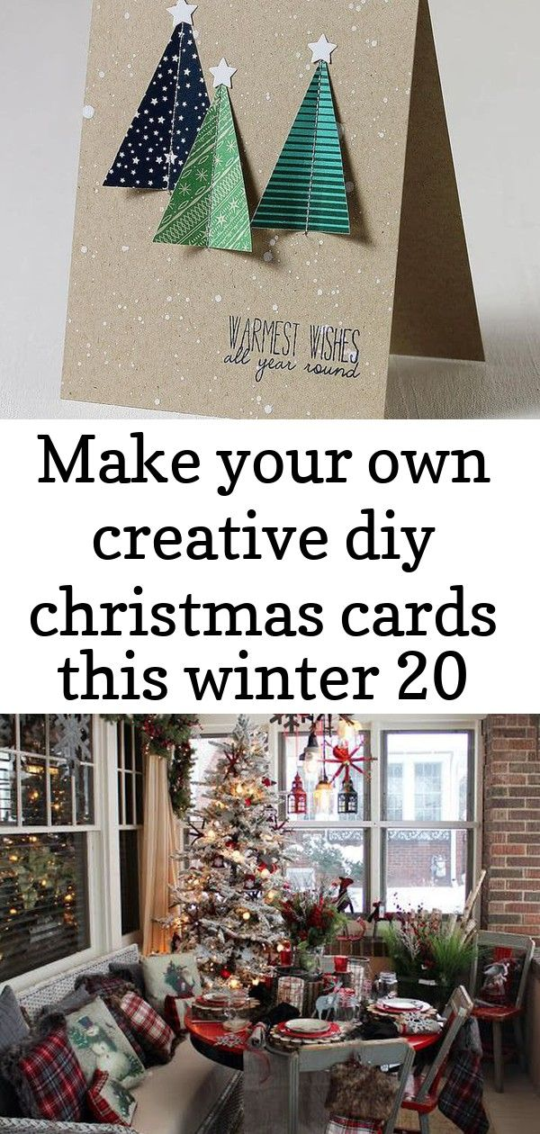 Make your own creative diy christmas cards this winter 20 #reindeerfoodrecipe