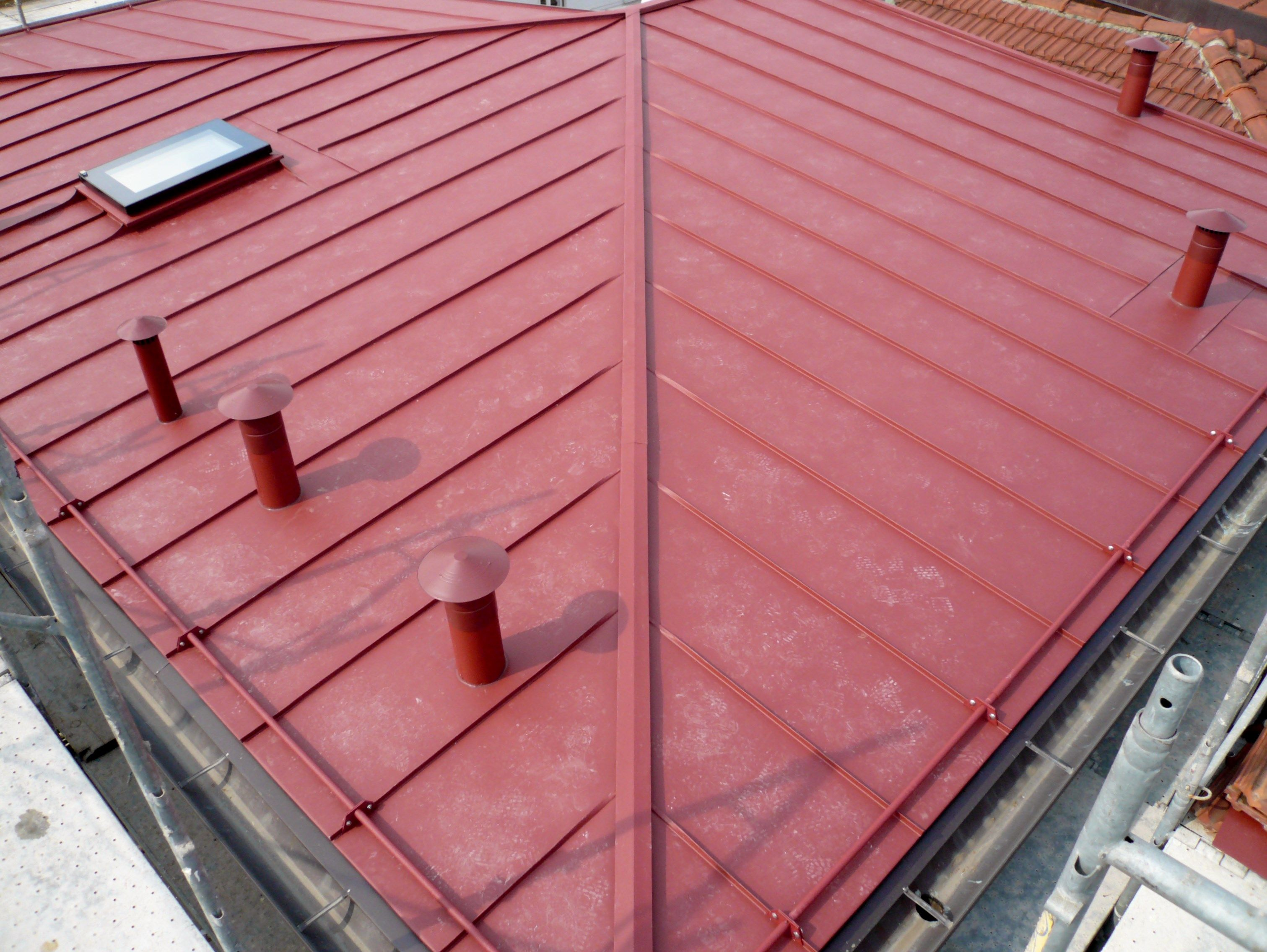 In questo tetto è stato utilizzato il sistema di isolamento
