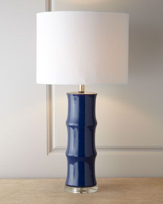 Dark Blue Lamp For Your Living Room Lizzy? $122.50 On Sale At Horchow