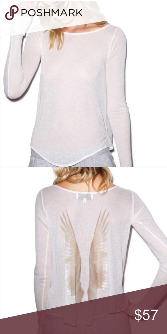 Wildfox Cassidy Angel Top Size S, NWOT, price negotiable, contact me before purchase Wildfox Tops Tees - Long Sleeve