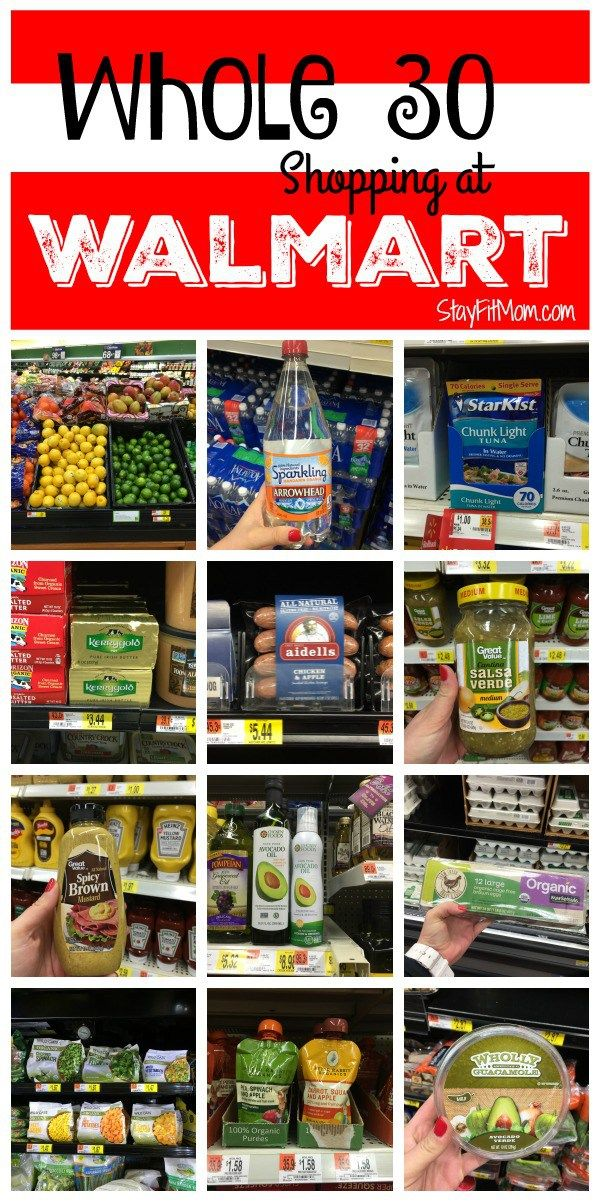 Whole30 Walmart Shopping List Whole 30 approved foods