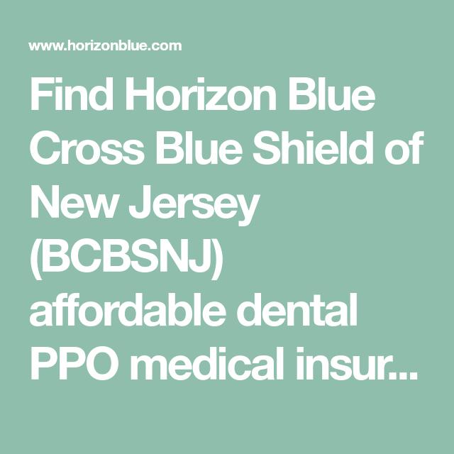 Find Horizon Blue Cross Blue Shield Of New Jersey Bcbsnj