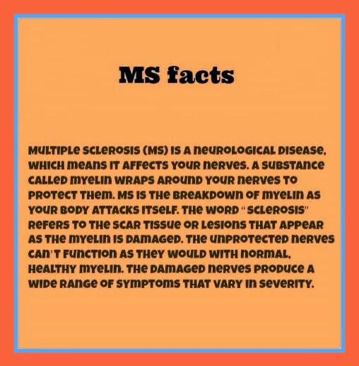 MS facts ...  Multiple Sclerosis #Awareness