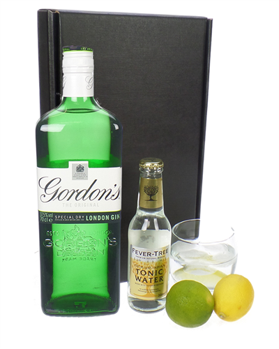 Gordons Gin And Tonic Gift Set Gin And Tonic Gifts Gordon S
