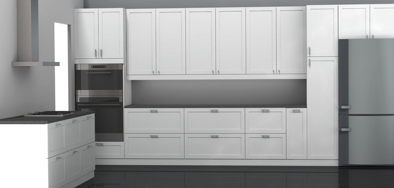 Ikea Kitchen Cabinets With Custom Doors. Best Cabinet Door Styles ...