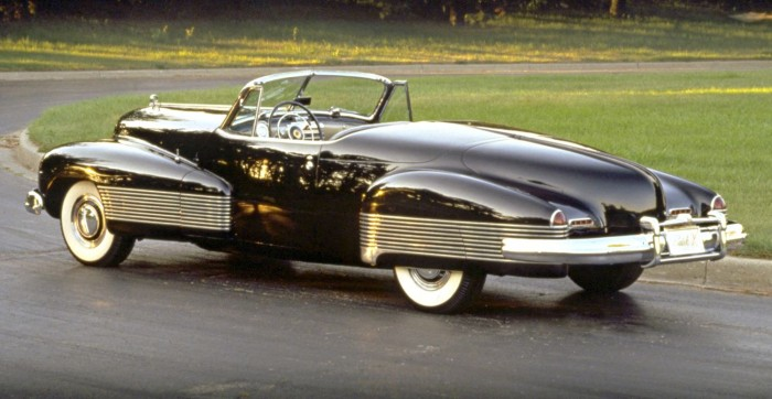 Cars of Futures Past - 1938 Buick Y-Job