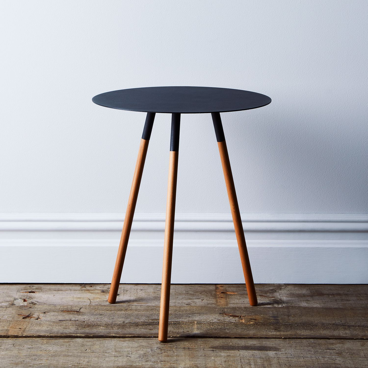 Steel Wood Round Side Table Round Furniture Round Wood Side Table Round Side Table [ 1500 x 1500 Pixel ]