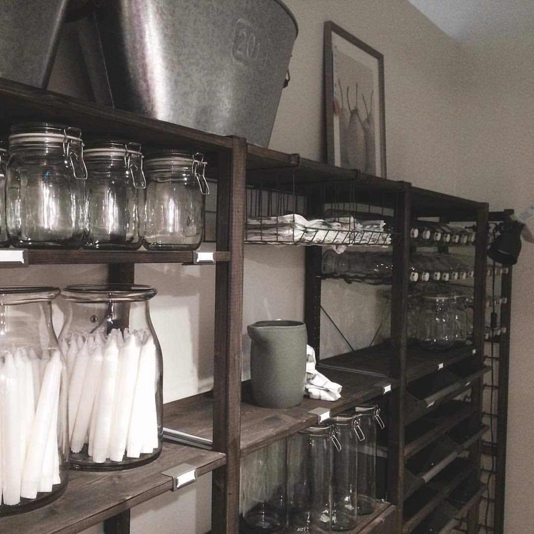 storage ikea ivar possible stain color for the home. Black Bedroom Furniture Sets. Home Design Ideas