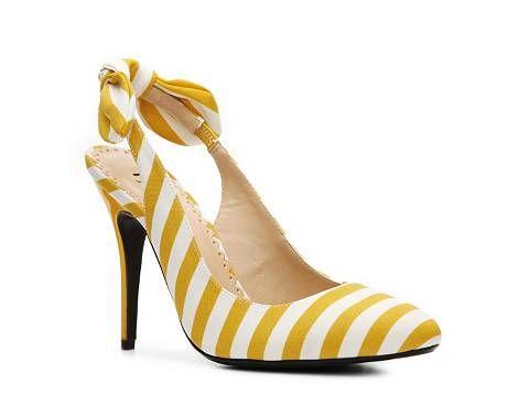 Unique Yellow Heels Dsw