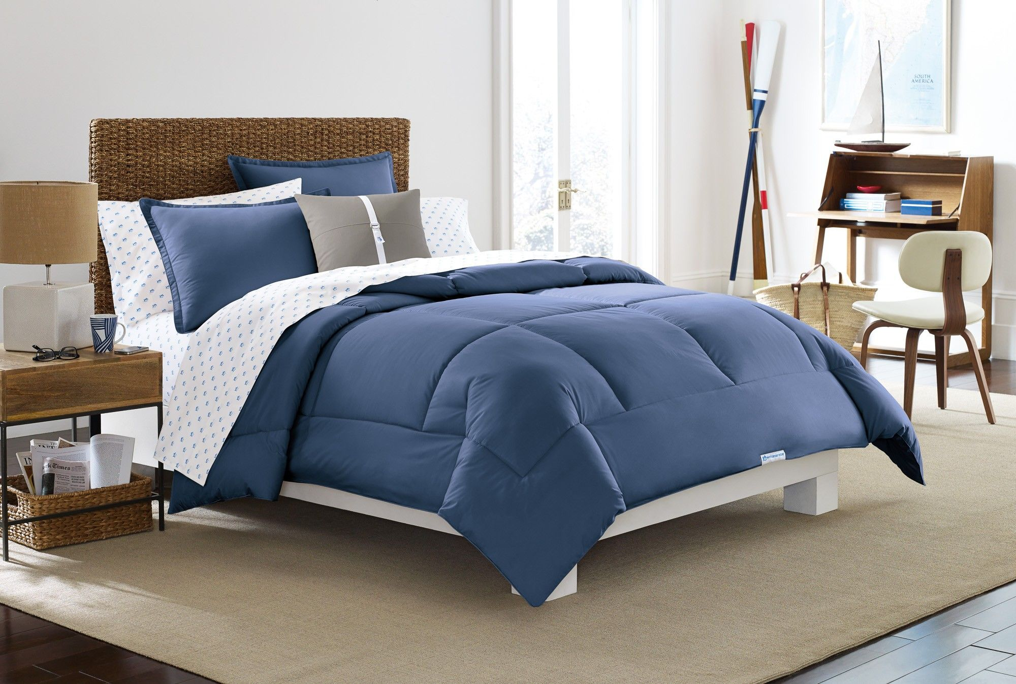 Southern Tide Solid Comforter Set (With images
