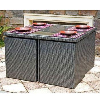 Havana 8 Seater Brown Cube Set For the Garden Pinterest Cube