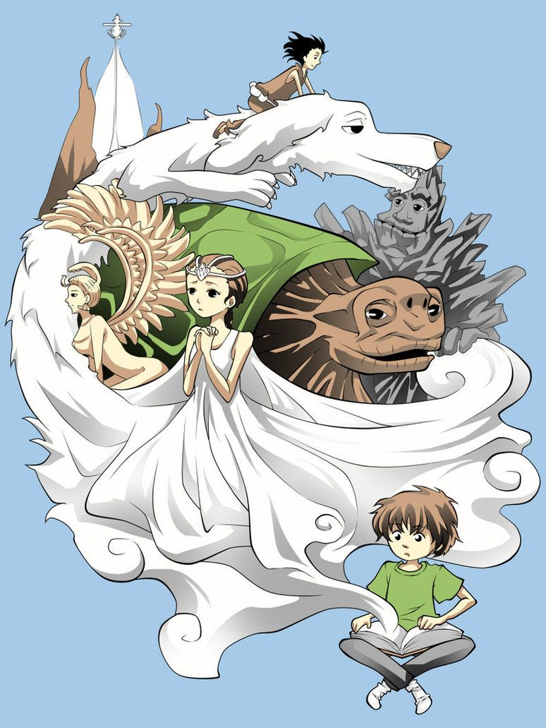 Resumen Del Libro La Historia Interminable Neverending Story By Stardustskull Deviantart On Deviantart