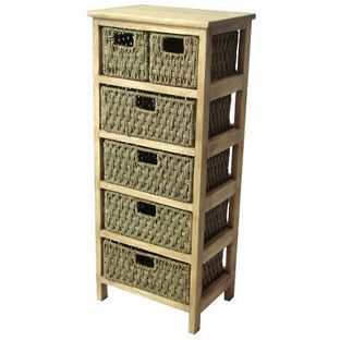 Cool 6 Drawer Storage Unit Seagrass From Homebase Co Uk Complete Home Design Collection Barbaintelli Responsecom