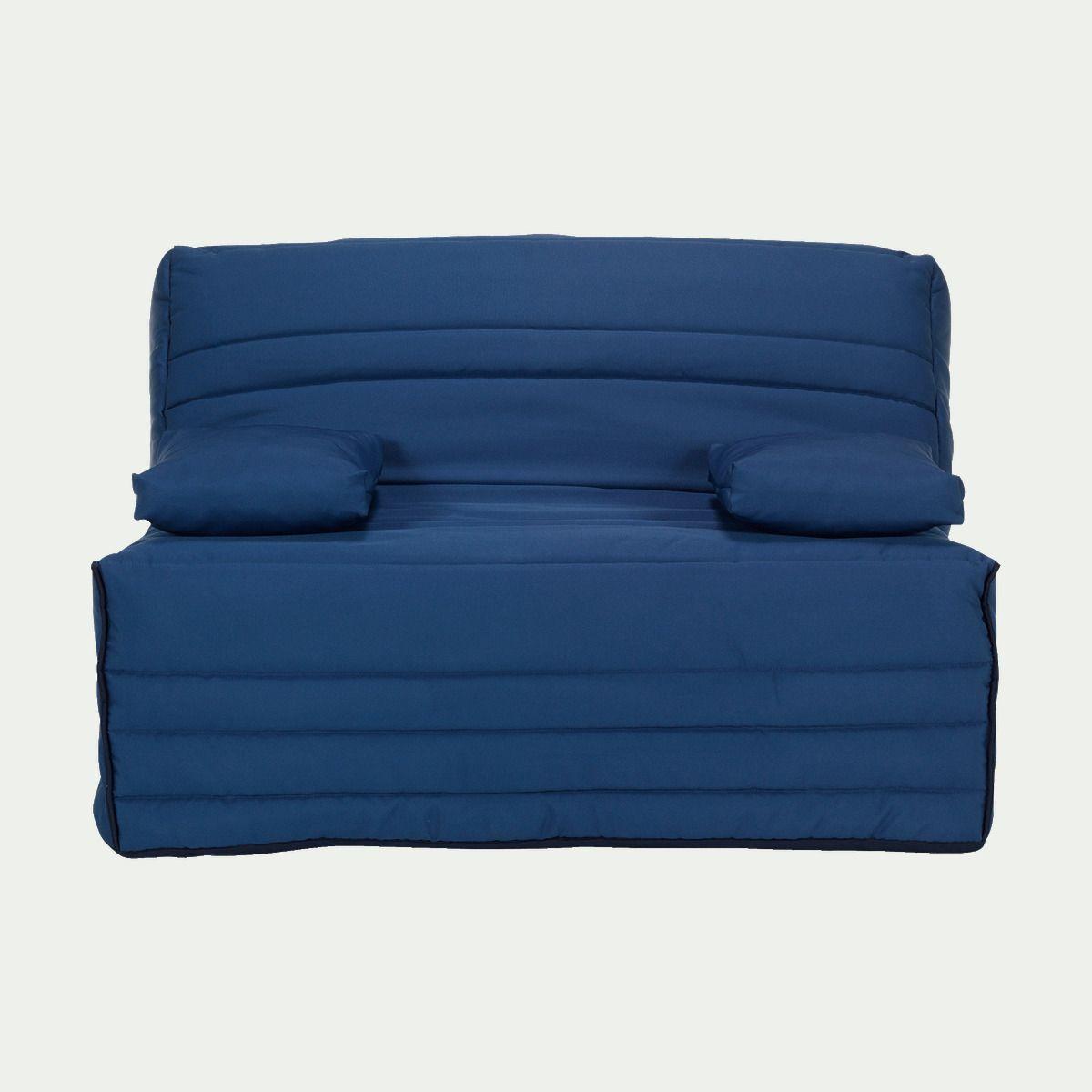 Housse Pour Clic Clac 130cm Bleue Alinea Housse Bz Housse Canape Bz Housses