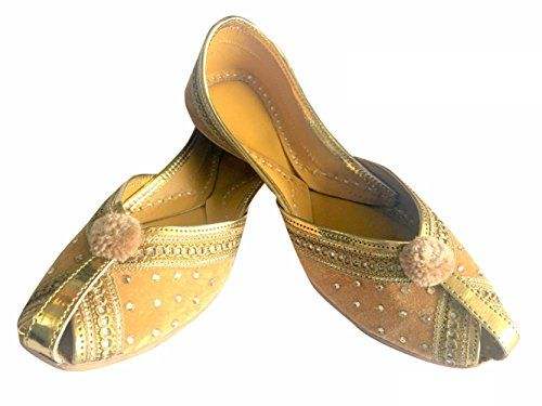 Indian Handmade Flip-Flops Men Shoes Wedding Khussa Punjabi Juti