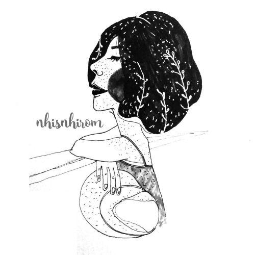 Pin by Nhi\u0027 Nhi on Sketch By Nhi Pinterest Girl sketch, Sketches