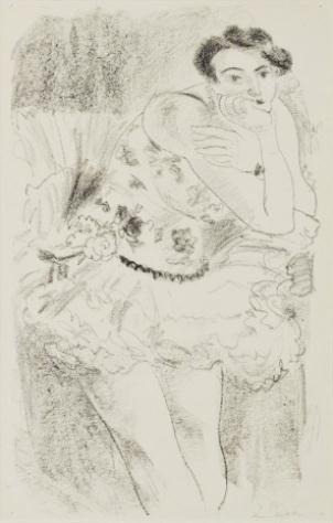 Henri Matisse, Danseuse debout, accoudée