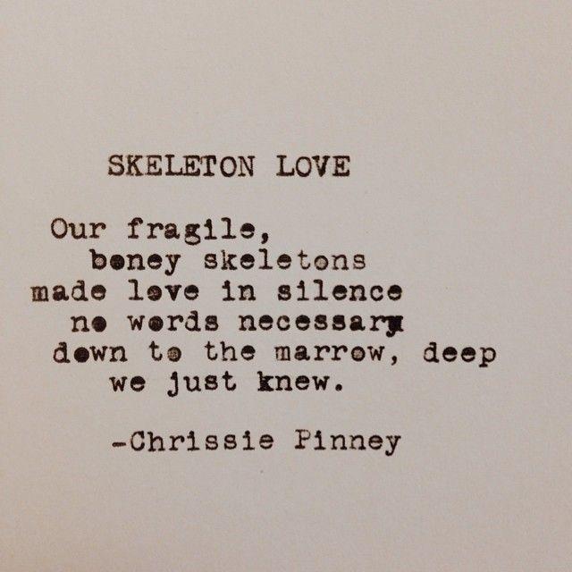Skeleton Love.