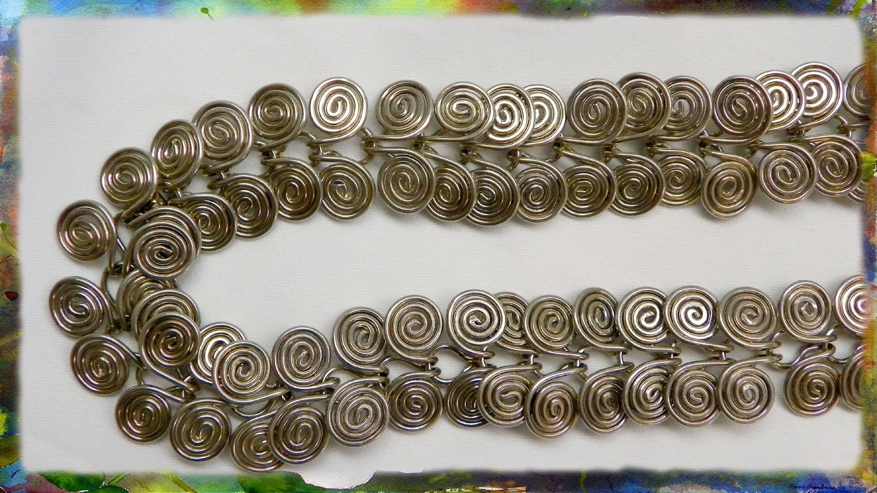 Egyptian Accessory for your costume. How to Make A Silver Wire ...