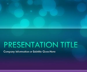 glow night powerpoint template is a free powerpoint background and