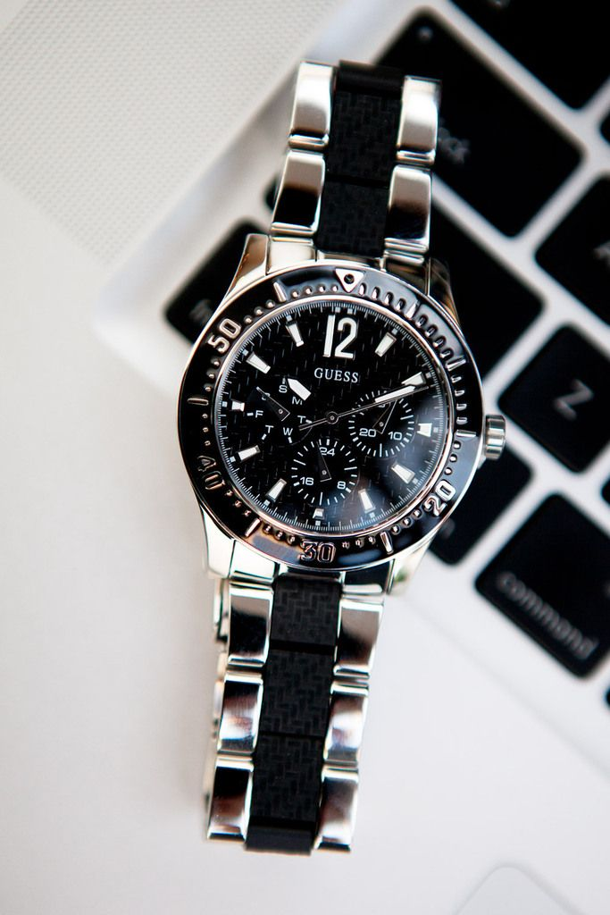 Prachtig herenhorloge deze W15067L1.