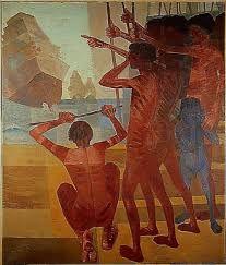 Resultado de imagem para pinturas descobrimentos