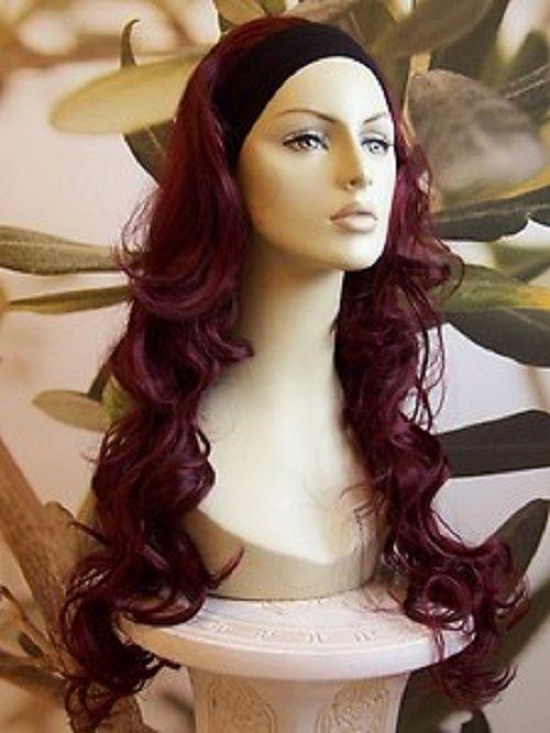 Dark Burgundy Hair Color Chart