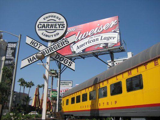 Carney S Restaurant 8351 W Sunset Blvd West Hollywood