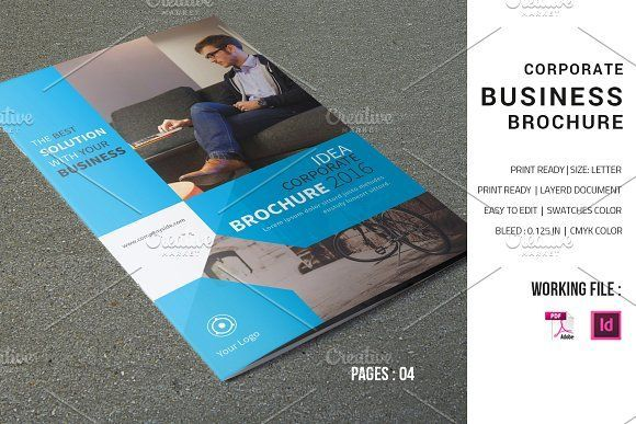 Corporate Brochure Template V598 Corporate Brochure Brochure