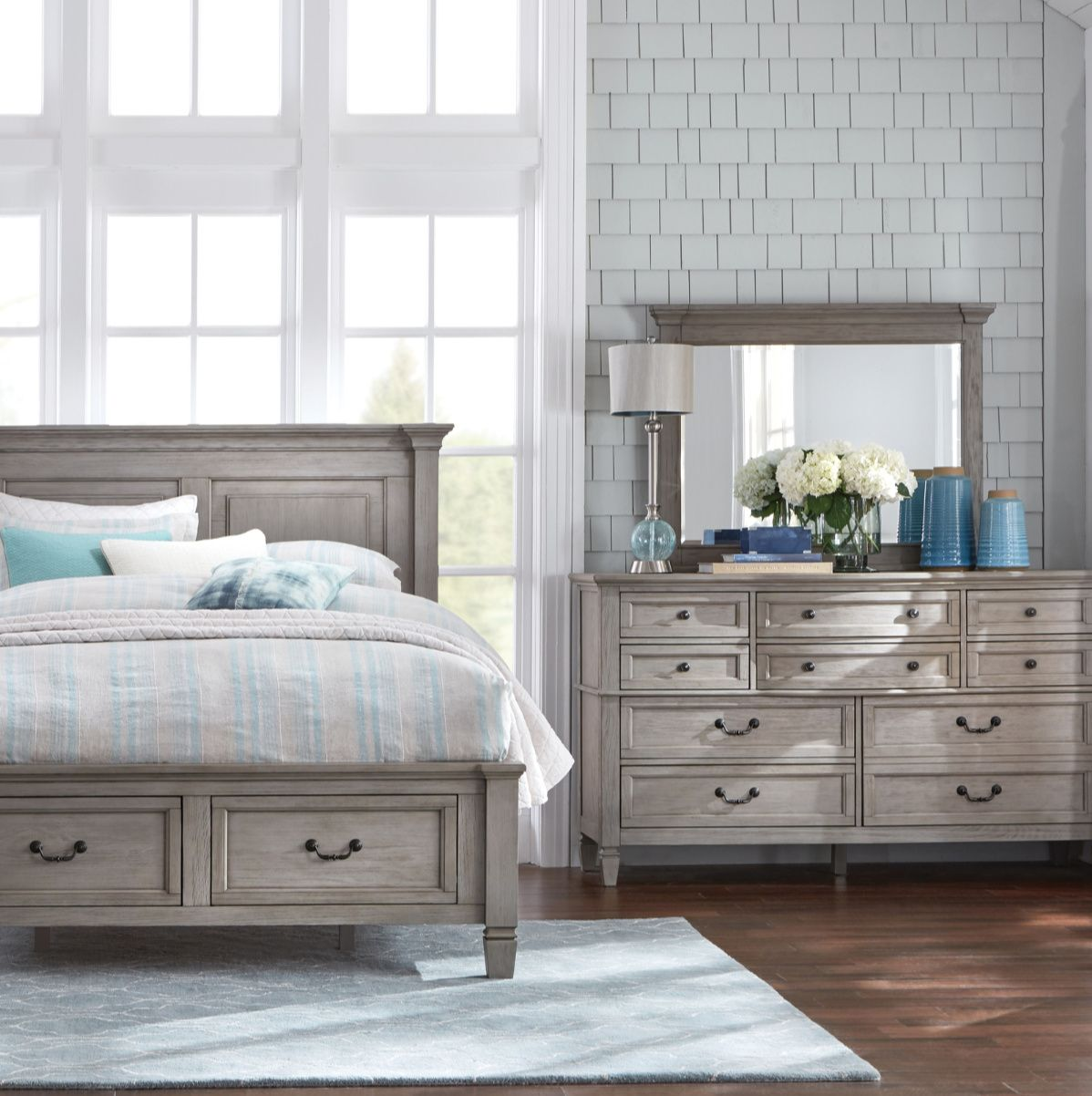 Redecorating Your Bedroom Consider The Lakeshore Grey 10 Drawer