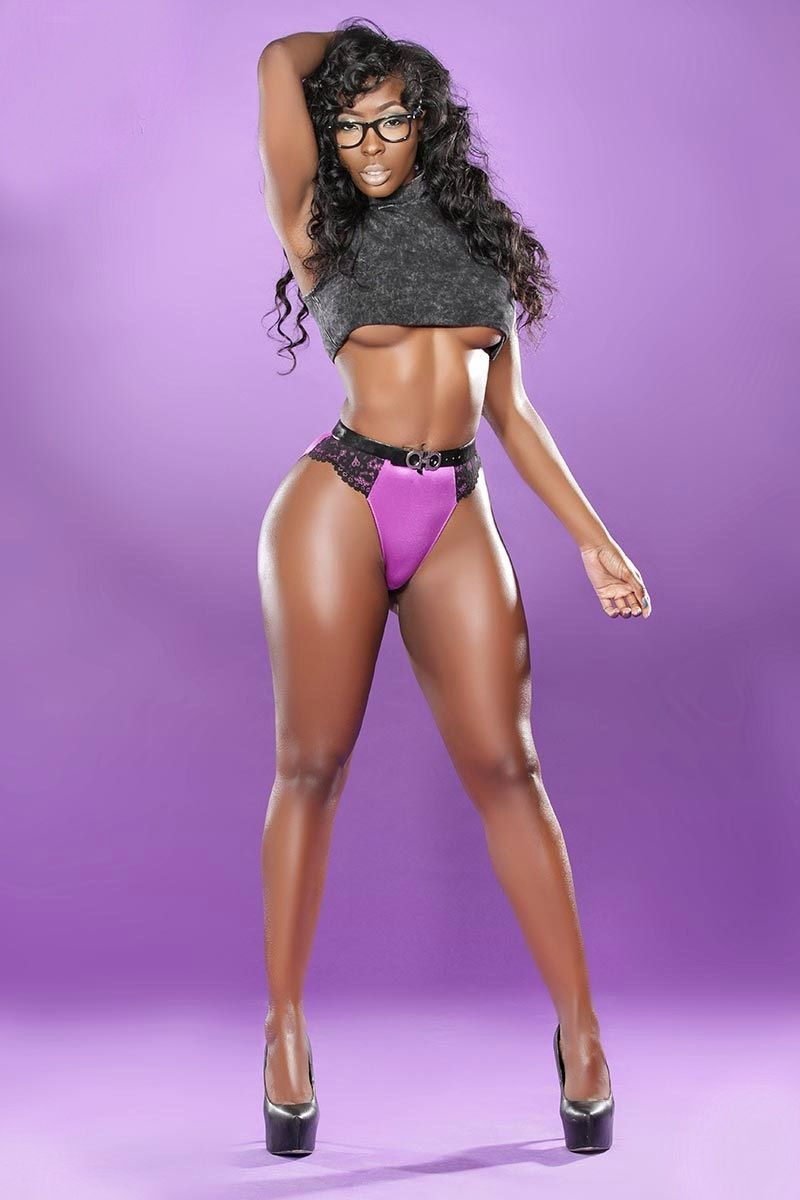 beautiful sexy ebony