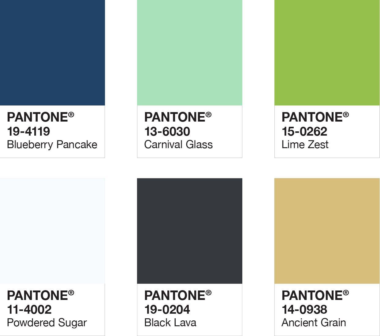 2019 spring trends embracing nature color palette schemes colour palettes pantone lamp 507c