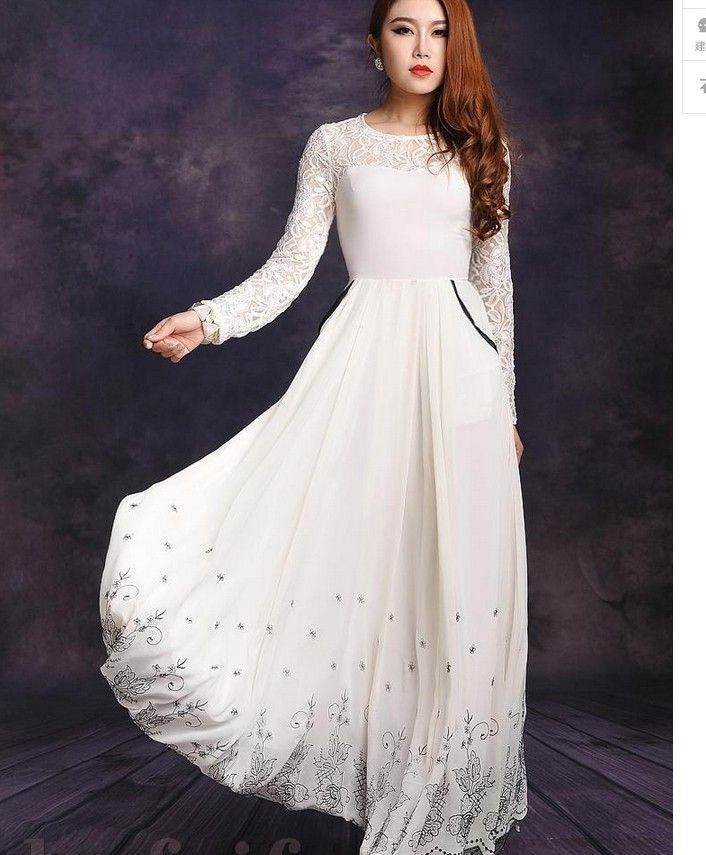 Maxi Dresses with Sleeves for Weddings with Sleeves Pakistani UK - Long Sleeved Summer Maxi Dress - Bing Images Beautiful Dresses
