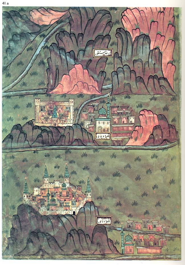 The Maps Of Matrakci Nasuh Ottoman Polymath The Public Domain Review Miniature Map Ancient Drawings Antique Maps