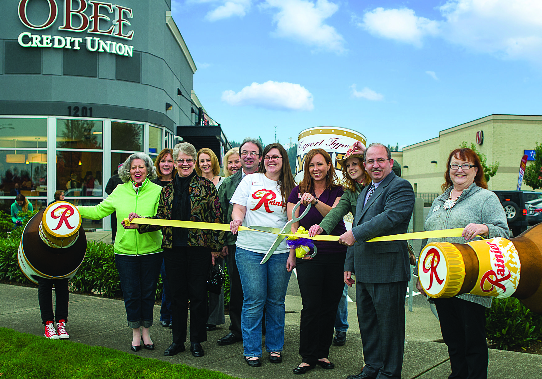 More than 300 visitors and over $500 raised for charity at our Yelm Grand Opening. Thank you Yelm!