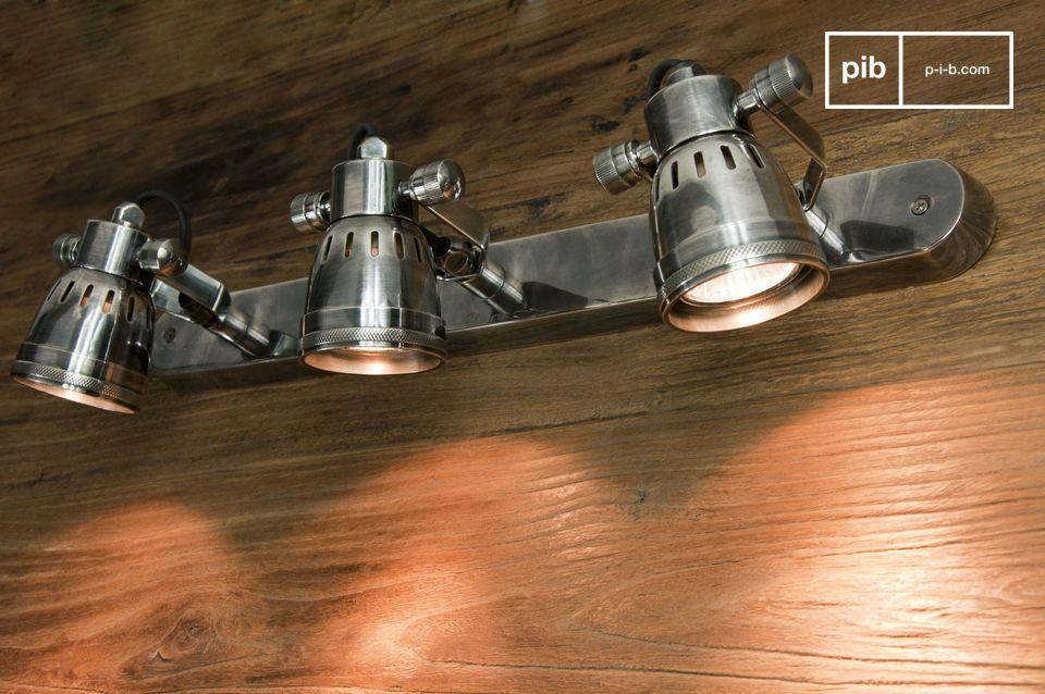 Triple applique bistrot luminaire modern lighting retro